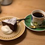 喫茶 カルネ - ケーキセット
