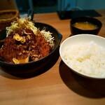 サッポロトンテキ - トンテキ定食です。