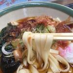 宮きしめん - つるつる麺