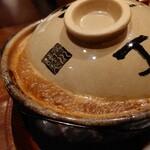 玉丁本店 - ブクブク熱せられてやってきた土鍋