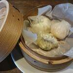 CHINA DINING 楊貴妃 - 飲茶三種盛り合わせ