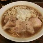 麺処 遊 - 肉中華そば(中)850円