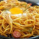 カフェラインローズ - 料理写真:朝から行っちゃう? 熱々の鉄板ナポリタン♪
