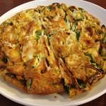 韓国家 - 玉子焼きに近いが美味いチヂミ