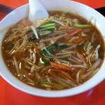 上海菜館 - サンマー麺