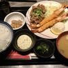 正岡の焼肉レスト - 料理写真:焼肉、エビフライのよくばりランチ