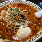 東京豚骨拉麺 ばんから - 新メニュー麻辣麺。