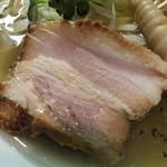 トリシオブットイメン 井の庄 - 豚チャーシュー