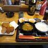 めしや おいちゃん - 料理写真:本日の日替定食 カキフライ コロッケ盛