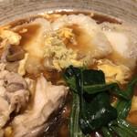 蕎麦きり みよた - 料理写真:揚げもち五目あんかけ880円+税