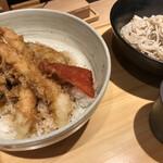 蕎麦きり みよた - 天丼S小せいろ900円+税