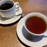 Roji菜園テーブル - 食後のコーヒーと紅茶