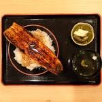 145492849 - 鰻1尾 特上うな丼1,900円(平日昼限定 通常3,800円)