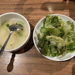 大滝 - サラダとスープ