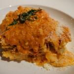 アブラッチョ - ラザニア 鶏ラグーとさつまいも チェダーチーズ