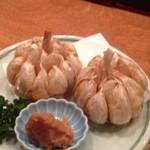 梅よし - にんにく揚げ…430円