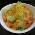 たまちゃん食堂 - セットのサラダ