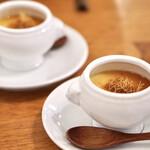 レカマヤジフ - 聖護院大根と生姜の茶碗蒸し