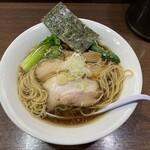一刀流らーめん - ストレート細麺
