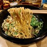 一平や - 元祖広島まぜ麺(唐辛子)(温)(麺アップ)