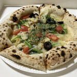 小麦の杜 リヨン - 料理写真:ピザ ナポリ780