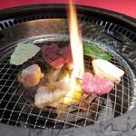 岡崎牧場焼肉店 - 料理写真: