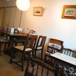 Cafe 亜羅人 - 内観