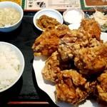 145518678 - 鶏の唐揚げ定食(税込1,000円)