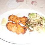 タンドール インドレストラン  - タンドリーチキンです