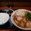 いな穂 - 料理写真:中華そば・ライス大盛