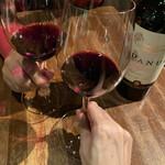 145526067 - チリのオーガニックワインでかんぱーい♪(*^^)o∀*∀o(^^*)♪
