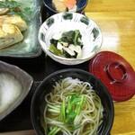 CoKo食堂 - ミニうーめん・小鉢2品