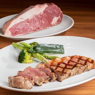 品質、味付け、焼きにこだわった極上ステーキ