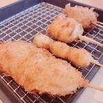ヨネヤ - 牡蠣、銀杏、チーズ、アメーラトマト