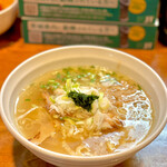 はりけんラーメン - 料理写真:中華そば 塩(760円)