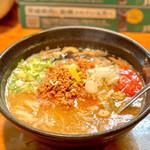 はりけんラーメン - 鶏白担々そば(900円)