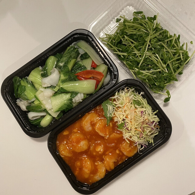 洪記餃子の料理の写真