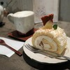 Sorashitokohi - 料理写真:林檎とココナッツのロールケーキ