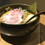 味噌らーめん 柿田川 ひばり - 味噌らーめん 味玉追加
