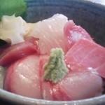 14554431 - 海鮮丼セット(丼)1580円