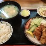ねぶた - 料理写真:カキフライ定食