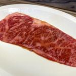 焼肉 ジャンボ はなれ - 「黒毛和牛ランチセット」5000円の野原焼