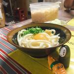 上杉食品 - 釜玉うどん