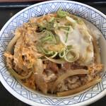 山うち - 料理写真:かつ丼=580円 税込