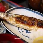 雑魚屋 - 料理写真:新秋刀魚の塩焼き
