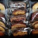 パティスリーキハチ - 焼き菓子8種