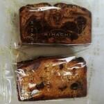 パティスリーキハチ - パウンドケーキたち
