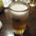月光 - 生ビールは朝日です