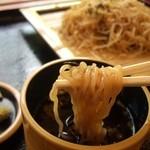 道の駅 三田貝分校 - 中華ざる コシのあるどんぐり麺