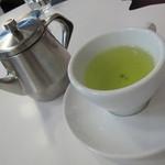 越後しなのがわバル - 村上産の極上緑茶(500円) 12.08.28.